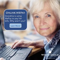 Grandma is using WEPay
