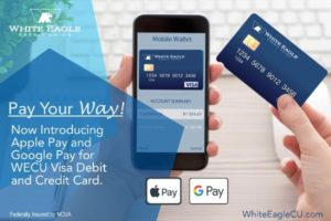 Pay your way with Google Pay and Apple Pay