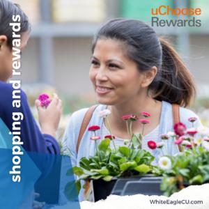 Shopping and rewards #uChooseRewards